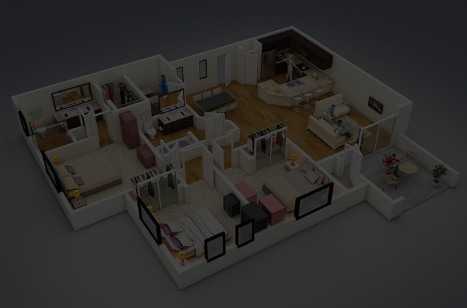 2D & 3D ARCHITECT FLOOR PLAN